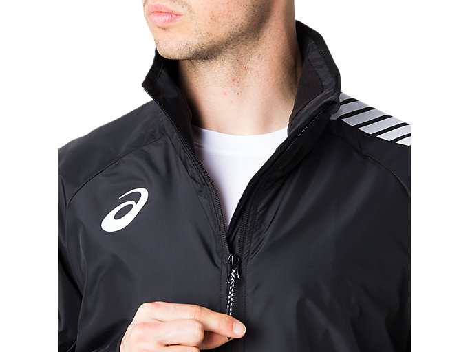 Alternative image view of LIMO®裏トリコットブレーカージャケット, パフォーマンスブラック
