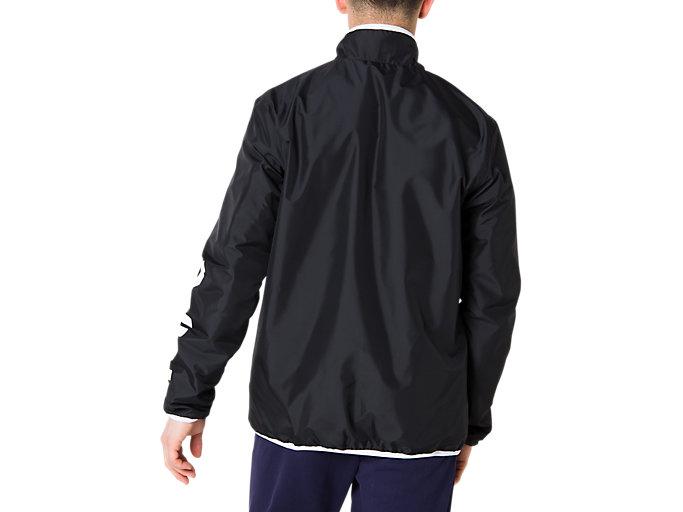 Back view of CA裏トリコットブレーカージャケット, パフォーマンスブラック