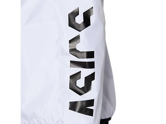 Alternative image view of CA裏トリコットブレーカージャケット, ブリリアントホワイト