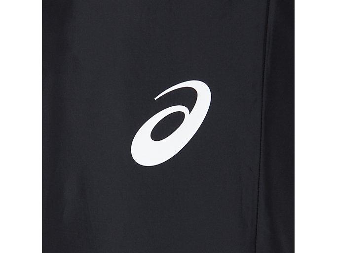 Alternative image view of CA裏トリコットブレーカーパンツ, パフォーマンスブラック×ブリリアントホワイト
