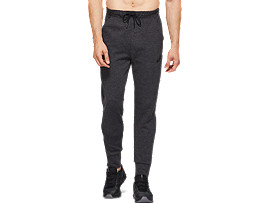 Front Top view of TAILORED PANT, PHANTOM HEATHER