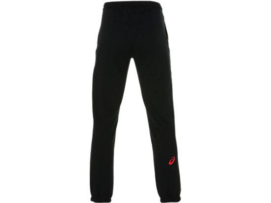 ASICS BIG LOGO SWEAT PANT PERFORMANCE BLACK/RED