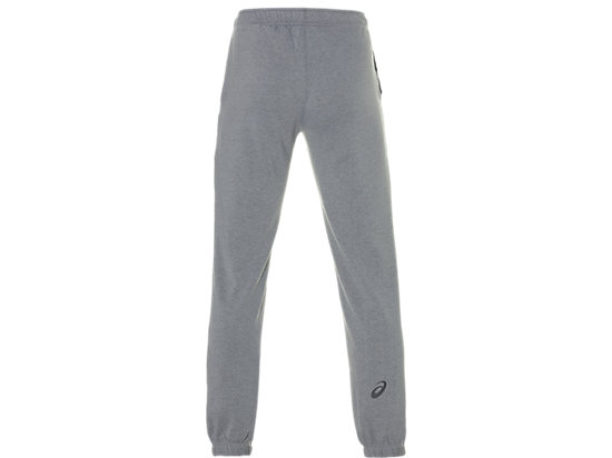 ASICS BIG LOGO SWEAT PANT MID GREY HEATHER/DARK GREY