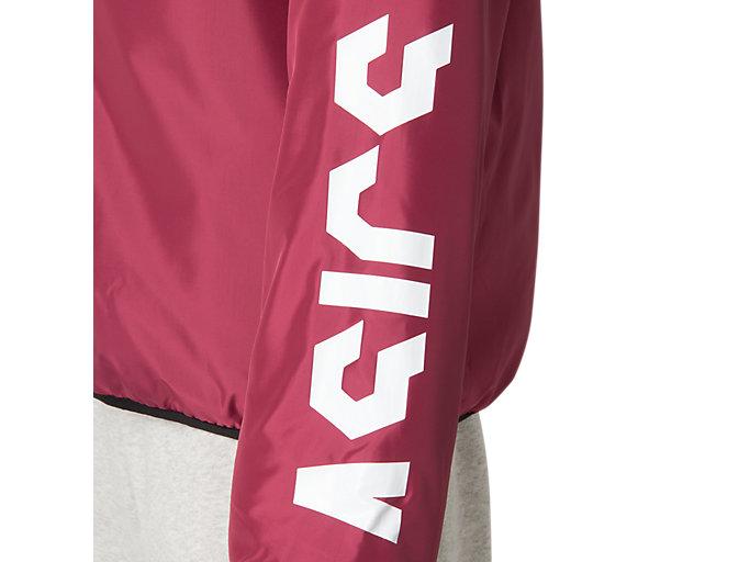 Alternative image view of CAウオーマーフーディージャケット, チリフレーク