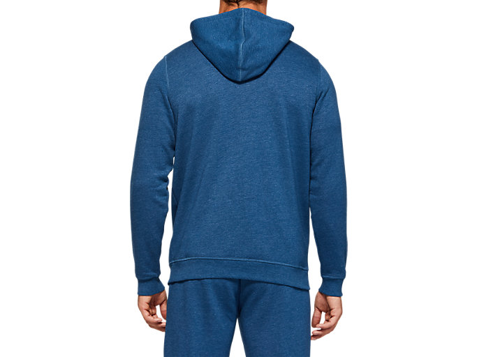 Men's SPORT KNIT HOOD | MAKO BLUE HEATHER | Langarmshirts