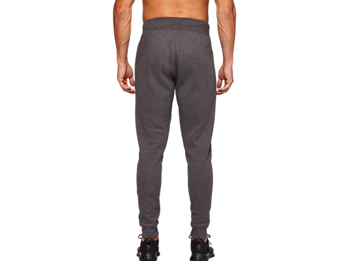 Back view of SPORT KNIT PANT, DARK GREY HEATHER
