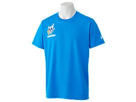 Front Top view of Tシャツ(東京2020オリンピックマスコット), Oブルー