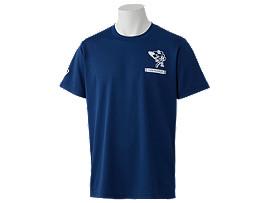 Front Top view of Tシャツ(東京2020オリンピックマスコット), EMネイビー