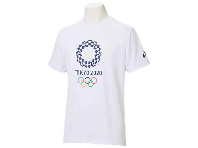 Tシャツ(東京2020オリンピックエンブレム), ホワイト