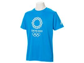 Tシャツ(東京2020オリンピックエンブレム), O.ブルー