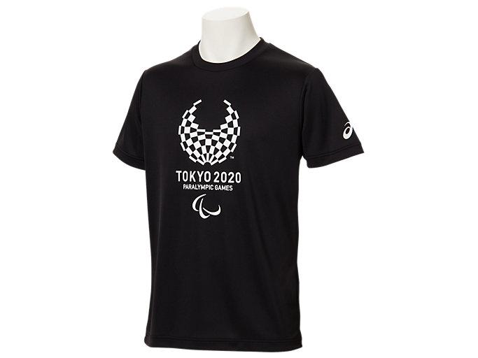 Tシャツ(東京2020パラリンピックエンブレム), ブラック