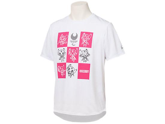 Tシャツ(東京2020パラリンピックマスコット), ホワイト