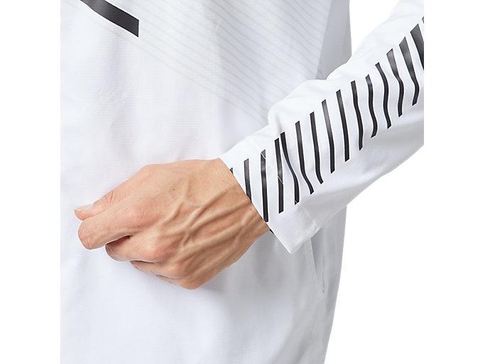 Alternative image view of LIMO®ストレッチクロスフーディージャケット, ブリリアントホワイト