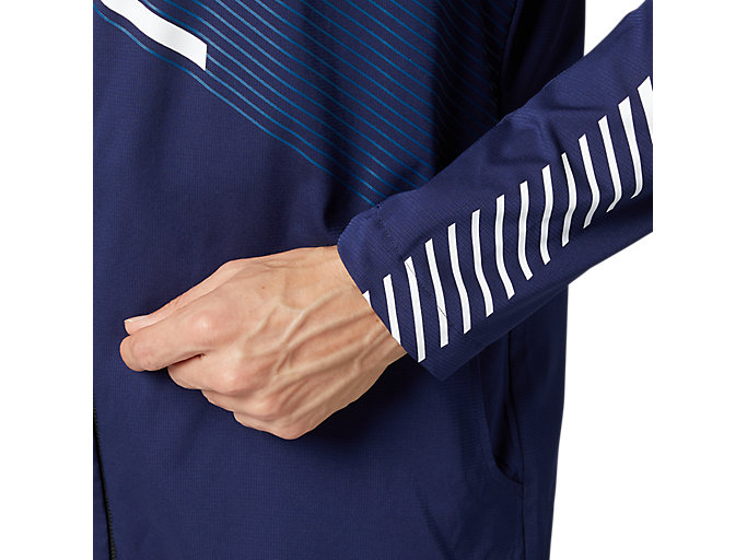 Alternative image view of LIMO®ストレッチクロスフーディージャケット, ピーコート