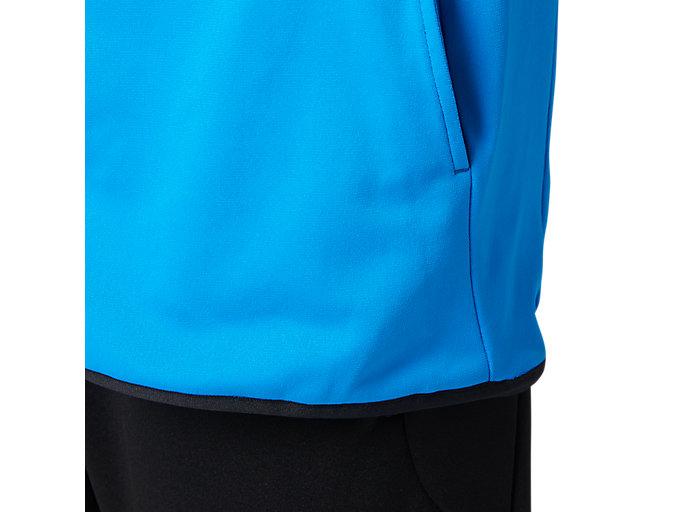 Alternative image view of LIMOストレッチニットジャケット, ディレクトワールブルー
