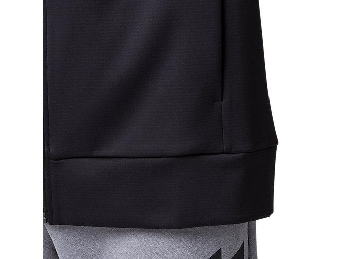 Alternative image view of LIMO®スウェットフルジップフーディー, パフォーマンスブラック
