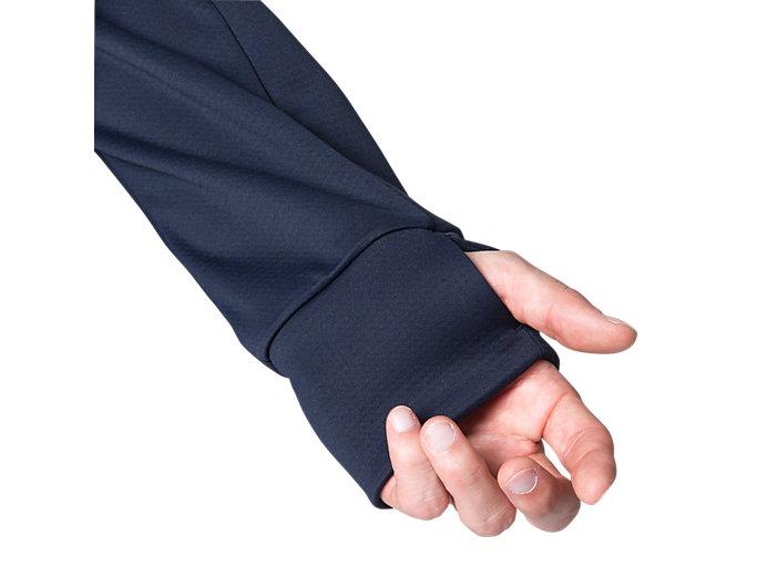 Alternative image view of LIMO®スウェットフルジップフーディー, ミッドナイト