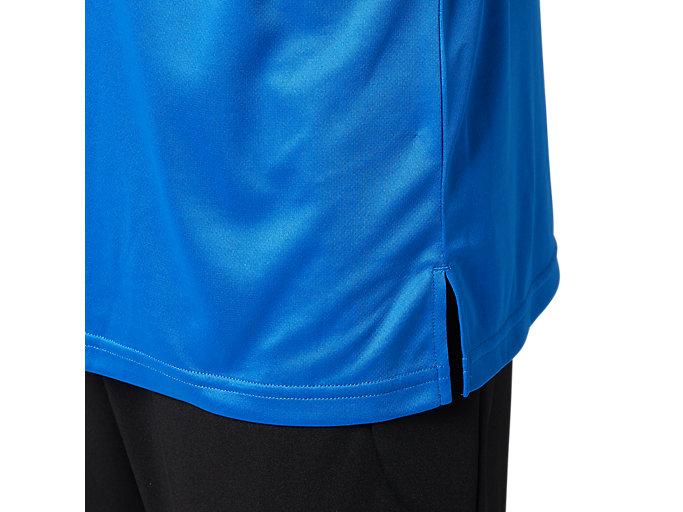Alternative image view of LIMOドライポロシャツ, ツナブルー