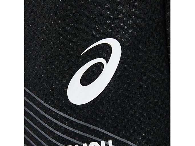 Alternative image view of LIMOエンボスグラフィックハーフ, パフォーマンスブラック