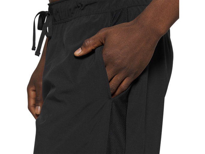 Alternative image view of 9In Stretch Woven Train Short