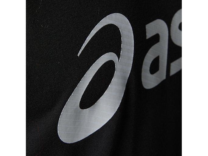 Alternative image view of トライブレンドショートスリーブトップ, パフォーマンスブラック/ブリリアントホワイト