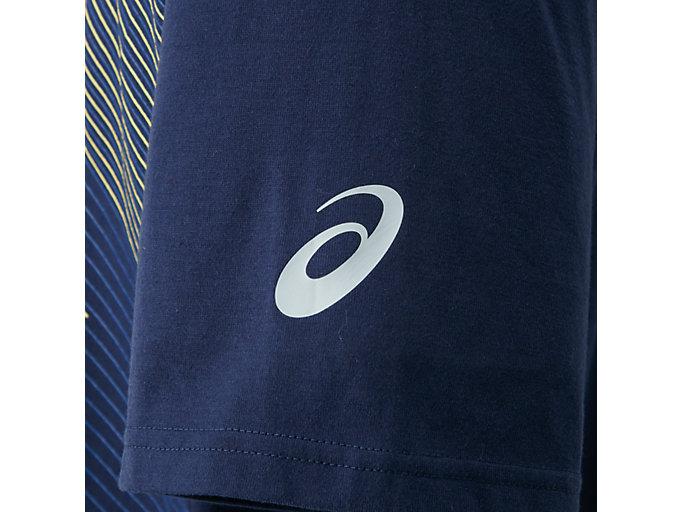 Alternative image view of JP ショートスリーブトップ, ピーコート/バイブラントイエロー