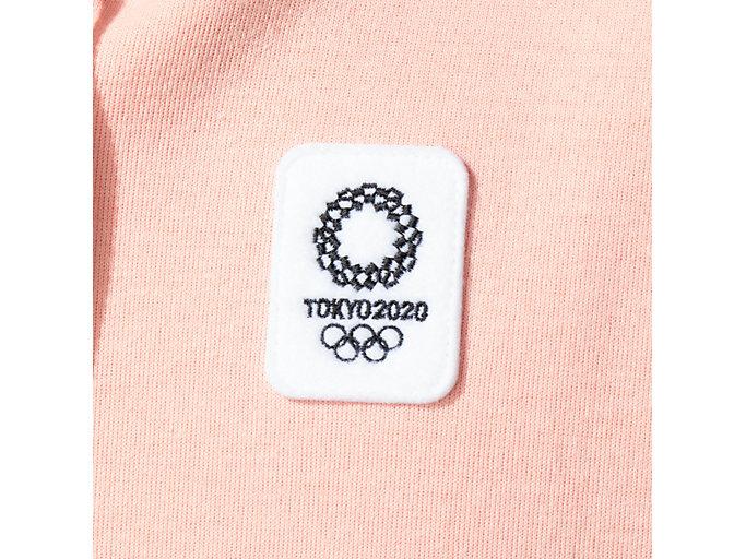Alternative image view of フルジップパーカ(東京2020オリンピックエンブレム), ピンク