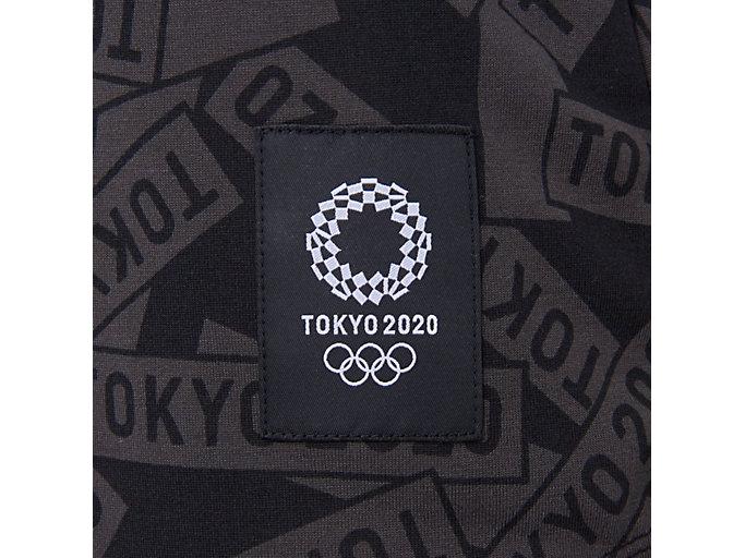 Alternative image view of Tシャツ(東京2020オリンピックエンブレム), ブラック