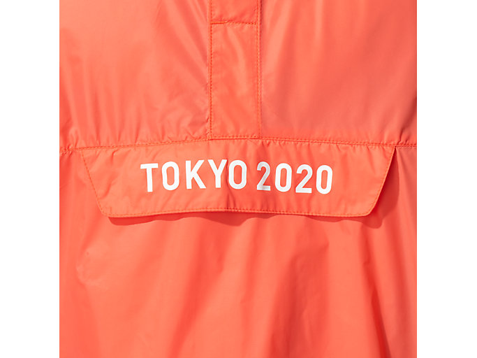 Alternative image view of アノラックパーカ(東京2020オリンピックエンブレム), サンライズレッド