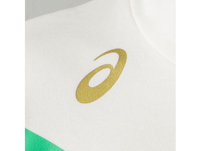 Alternative image view of フラッググラフィックスウェットフーディ, クリーム