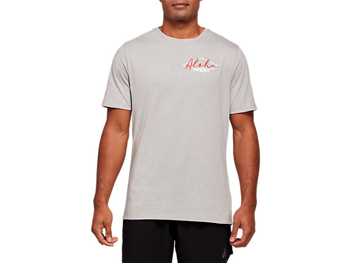 Front Top view of ALOHA SHORT SLEEVE TEE