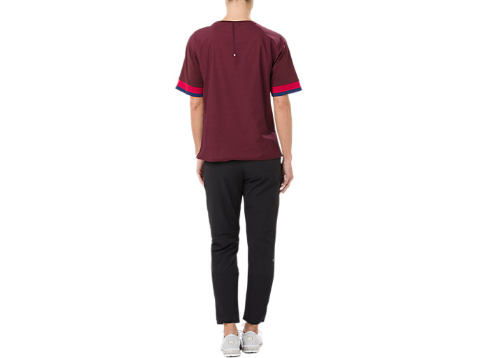 Alternative image view of MIX FABRIC SS TOP, PORT ROYAL
