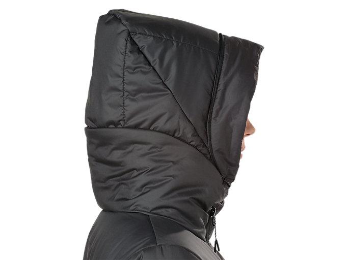 Alternative image view of GEL-HEAT INSULATION JACKET, PERFORMANCE BLACK