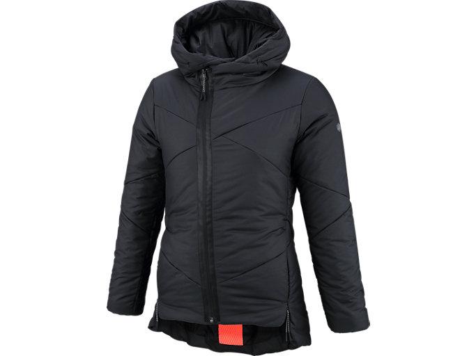 ウイメンズGEL-HEATインシュレーションジャケット, BLACK/BLACK