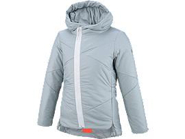 W'SGEL-HEATインシュレーションジャケット, SILVER/DARK GREY