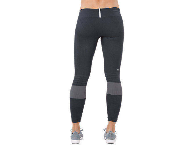 Back view of SEAMLESS TIGHT, PERFORMANCE BLACK
