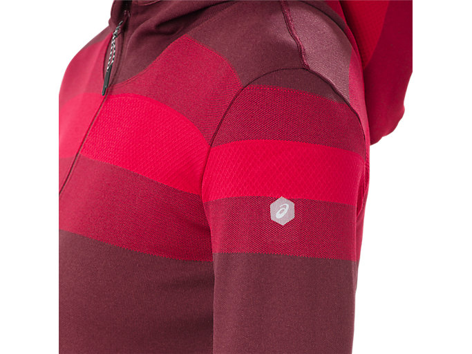 Alternative image view of SEAMLESS FZ HOODIE, PORT ROYAL