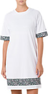 LIBERTY SHORT SLEEVED LONG TOP