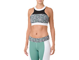 Liberty Print Halterneck Sports Bra