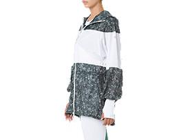 W'SLPロングフーディーウィンドジャケット, WHITE/WHITE