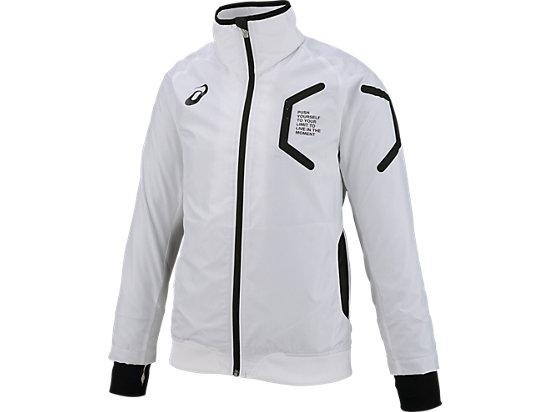 LIMO W'S裏トリコットブレーカージャケット, WHITE/WHITE