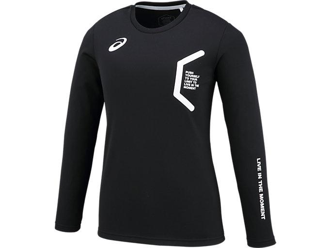 LIMO ウイメンズロングスリーブシャツ, BLACK/BLACK