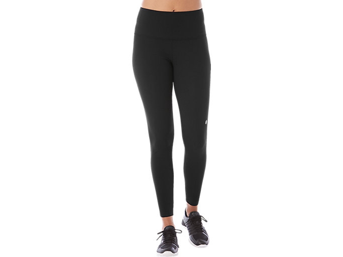 Alternative image view of LEGGINS MIT HOHEM BUND, PERFORMANCE BLACK