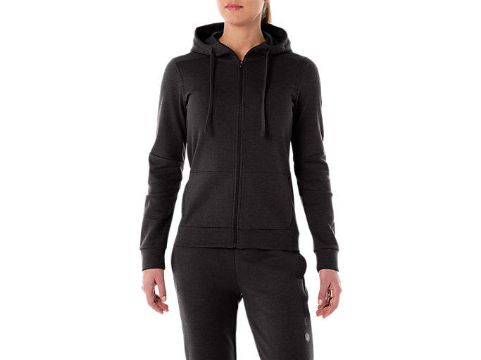 Alternative image view of TAILORED FZ HOODY, PERFORMANCE BLACK