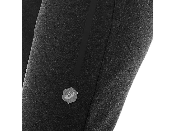 Alternative image view of TAILORED PANT, PERFORMANCE BLACK HEATHER