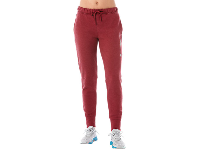 Alternative image view of TAILORED PANT, CORDOVAN HEATHER