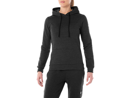 TAILORED OTH BRUSHED HOODY, PERFORMANCE BLACK HEATHER