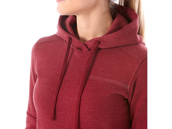 Alternative image view of TAILORED OTH HOODY, CORDOVAN HEATHER