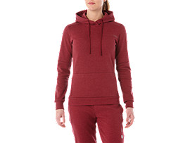 TAILORED OTH HOODY, CORDOVAN HEATHER