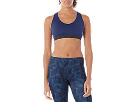 LOW SUPPORT BRA, BLUE PRINT
